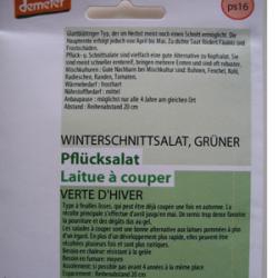 Grüner Winter-Schnittsalat, Bio