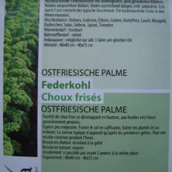 Ostfriesische Palme, Bio